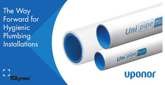 Uponor - The way forward for hygienic plumbing installations