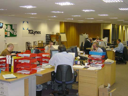TGLynes Sales Department